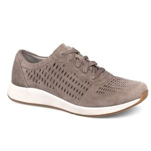 Dansko Women's Charlie Sneaker in Walnut Suede